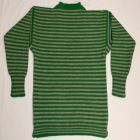 Kelly Green and New Natural Stripe Guernsey - £80.00